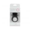 PrimO Tux Vibrating Cock Ring Black