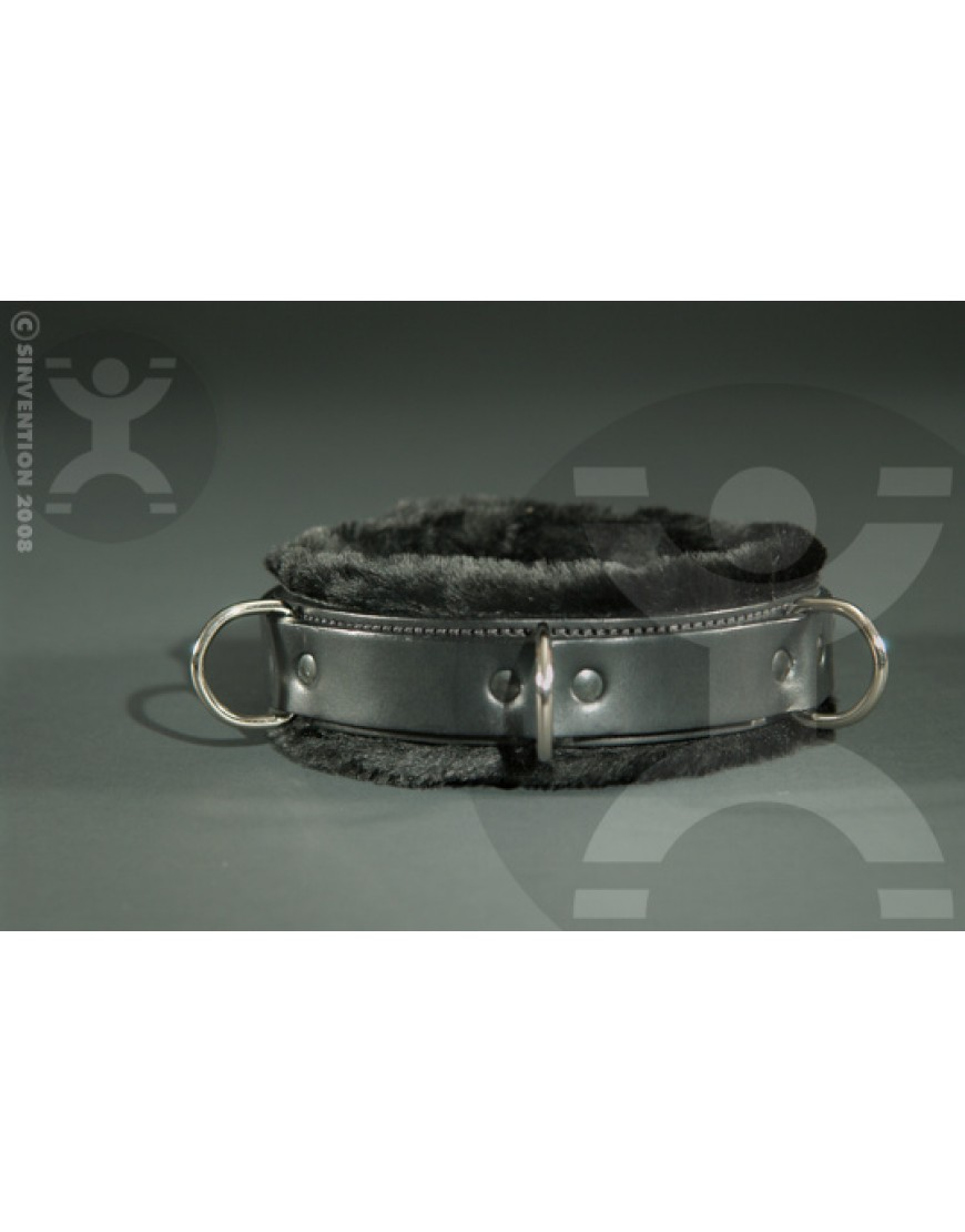 Slimline Luxury Fur Bondage Collar