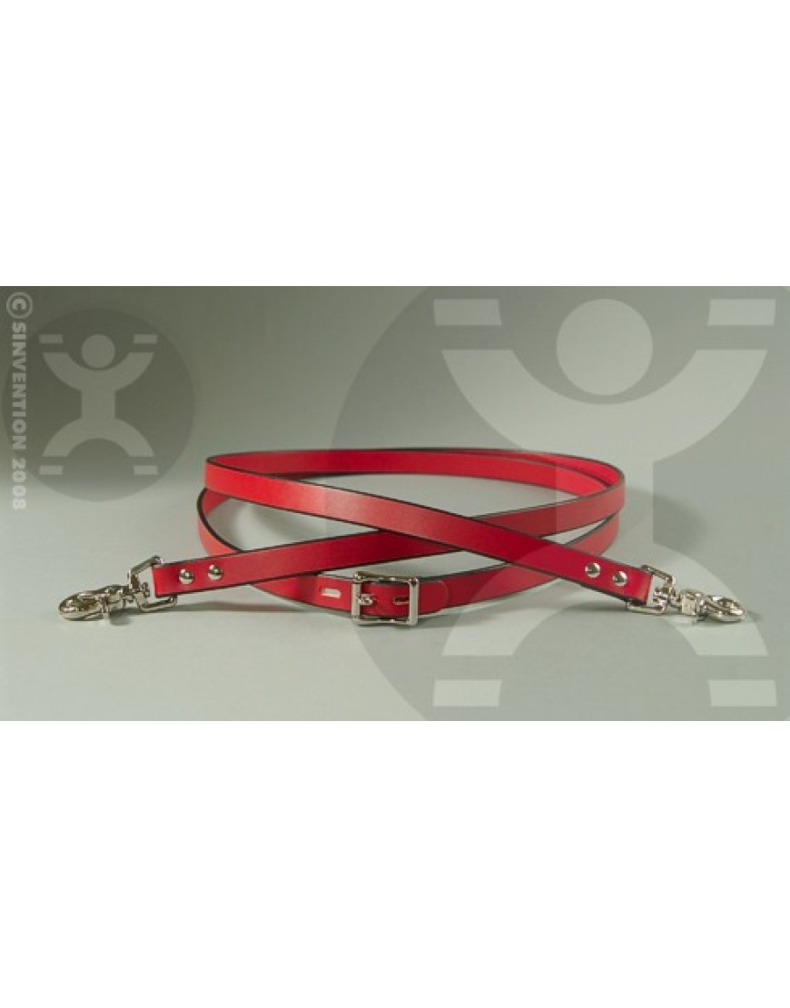 Connected Leather Riding Reins