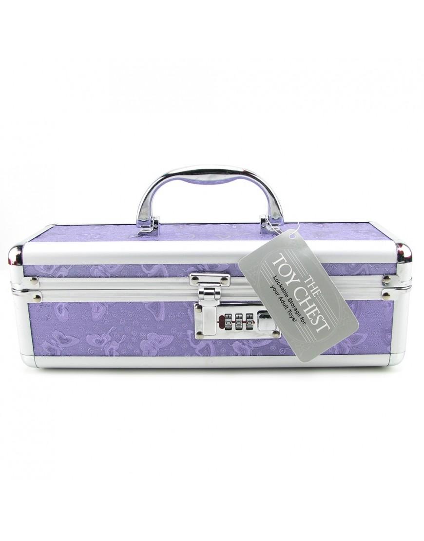 Lockable Small Vibrator Case Metallic