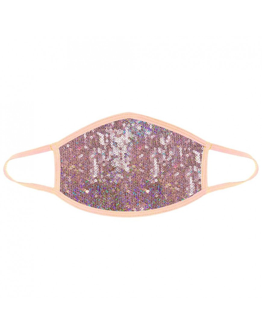 Bubbly Feels Nude Sequin Sparkle Face Mask