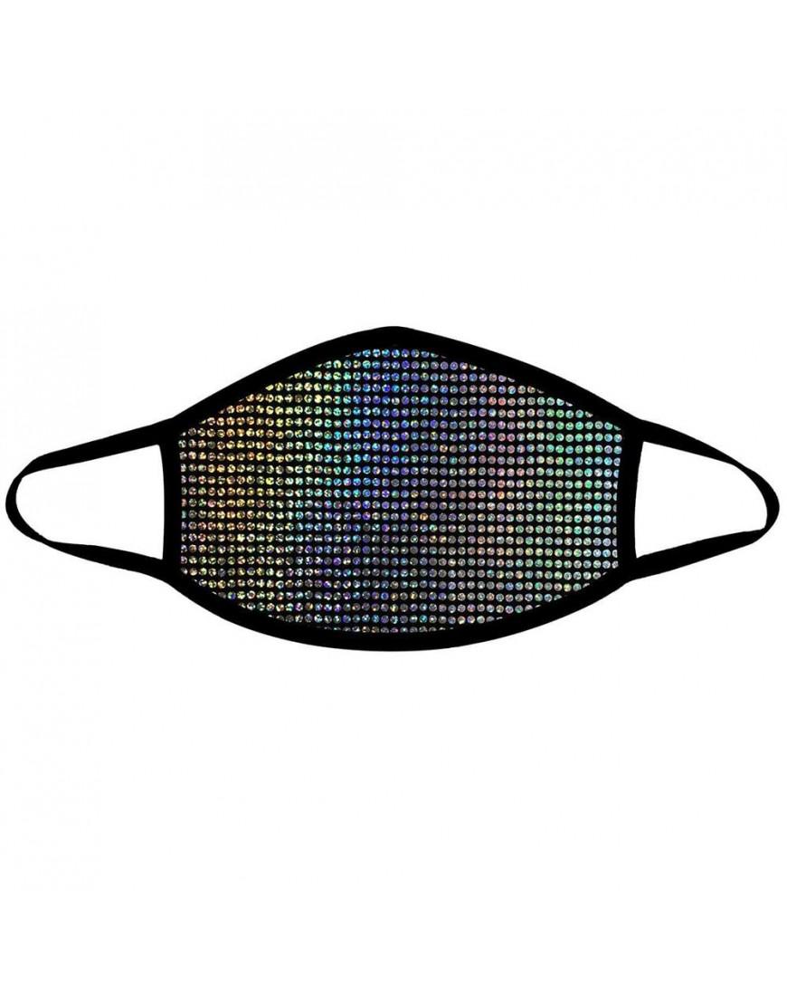 Disco Robot Super Holographic Face Mask
