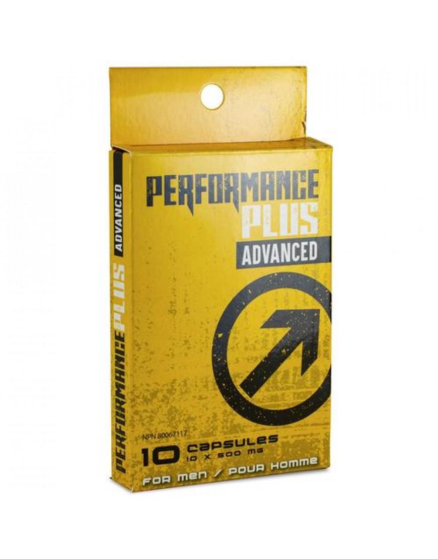 Performance Plus Advanced Male Enhancement Pills 10 pack