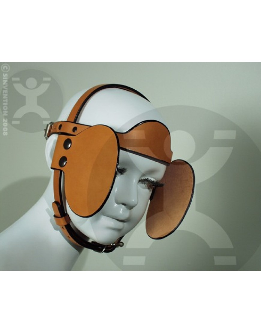 Round Bridle Removable Blinders
