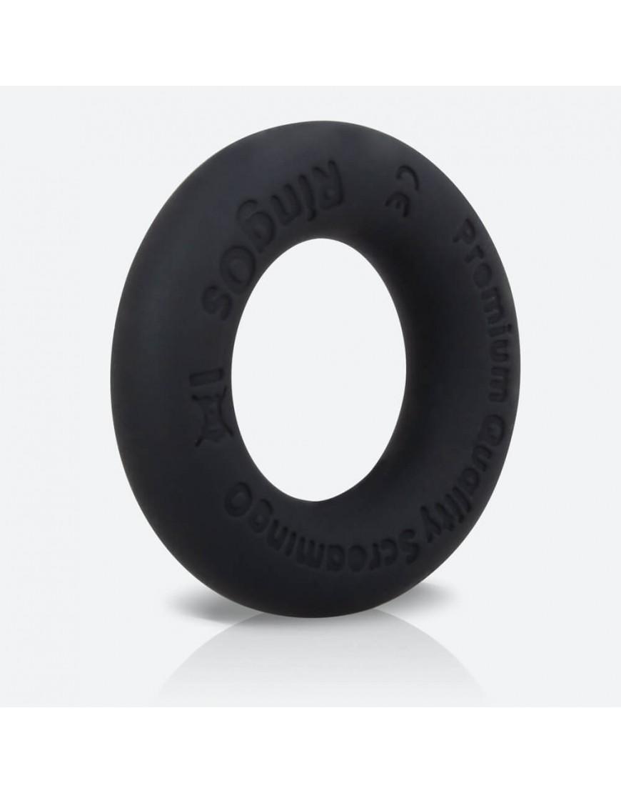 RingO Ritz Silicone Cock Ring Black