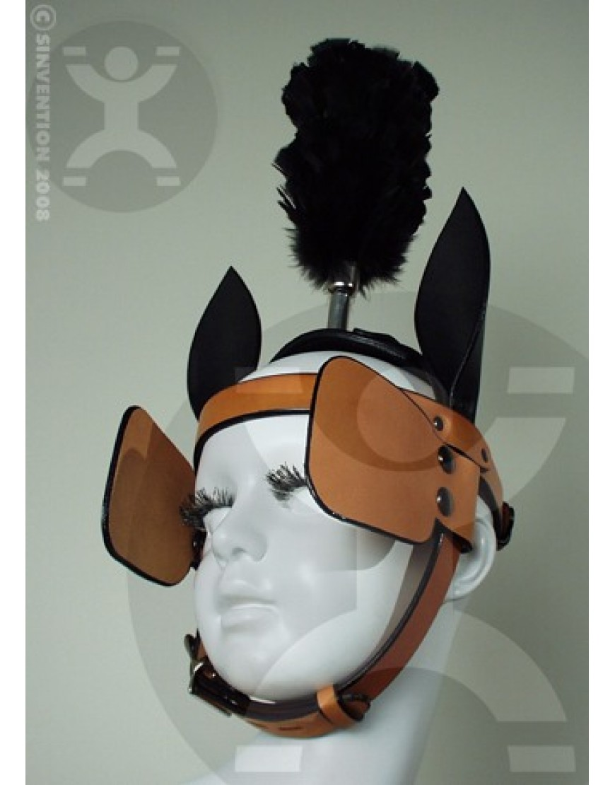 "Straight 1"" Brow Bridle Blinders"